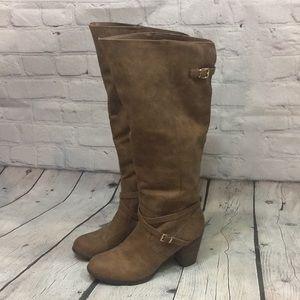 "Madden Girl Knee High 3"" Heel Boots - EUC"